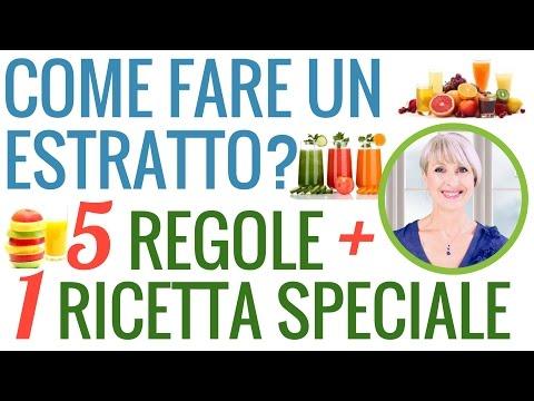 COME FARE un ESTRATTO di FRUTTA e VERDURA BUONISSIMO e SANO: 5 REGOLE + 1 RICETTA SPECIALE