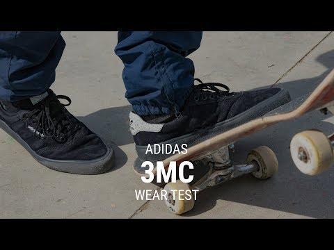 Adidas 3MC Skate Shoe Wear Test Review – Tactics.com