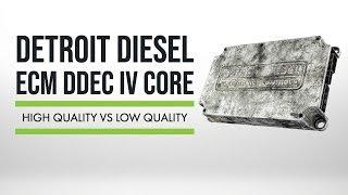 ECM: High Quality Vs Low Quality Core | Detroit Diesel DDEC IV ECM Core