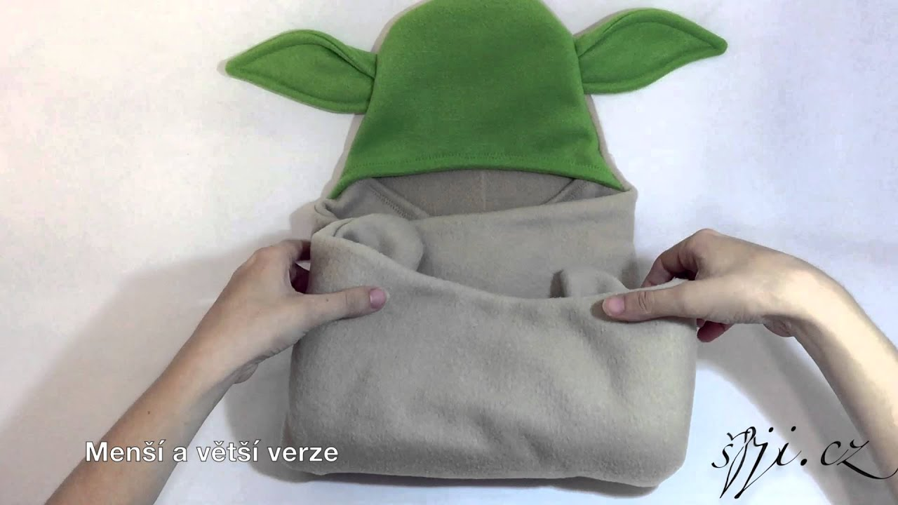 078e7aaf0 Videoukázky varianty Yoda a univerzálních barevných bez zvířátkových motivů: