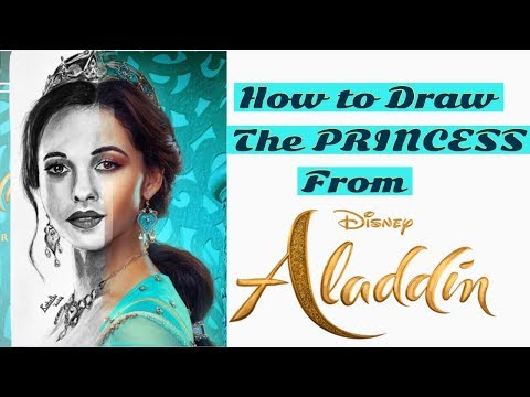 Download How To Draw Princess Jasmine From Aladdin Video 3GP Mp4 FLV