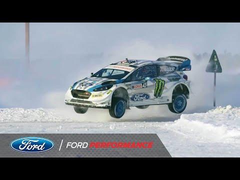 ケンブロックがフォードのマシンを操ってドリフトパフォーマンスをしてきた10年の歴史をまとめた動画