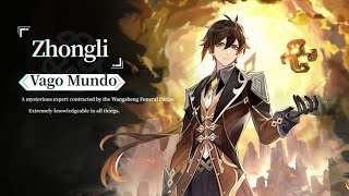 Genshin Impact - Zhongli The Listener (Rex Incognito) Extended OST with I WILL HAVE ORDER