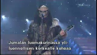 2006 Eurovision Song Contest final -  Lordi is winning 20 May 2006