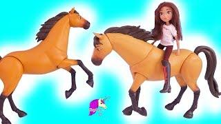 GIANT Posable Spirit Riding Free Horse ! Honey Hearts C Horses Video