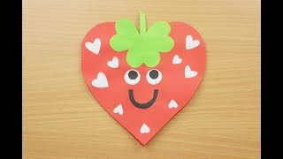 Diy diwali card making easy handmade greeting card with simple strawberry cardproject idea for kidshow to make birthday cardvalentines crafts m4hsunfo