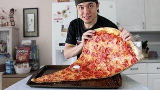 Matt Stonie vs 1 MASSIVE Slice of Pizza