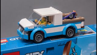 LEGO City 60253 alternative model PICKUP car