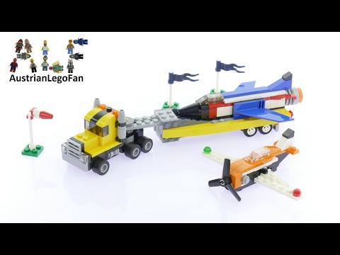 Vidéo LEGO Creator 31060 : Le spectacle aérien