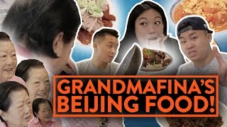 BEIJING FOOD w/ AWKWAFINA & GRANDMOTHER - Video Youtube