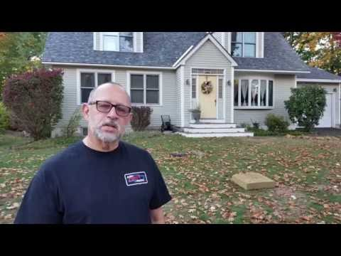 Homeowner talks about his experience with his old roof and about his new roof we installed.