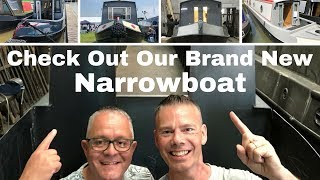 Check Out Our Brand New Narrowboat!