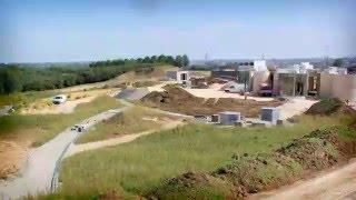 preview picture of video 'Crématorium d'Amiens : les étapes du chantier de construction'
