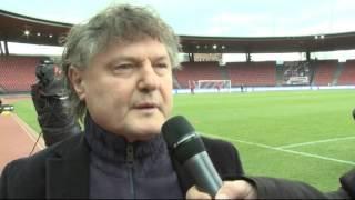 Pre-Match-Interview mit Ancillo Canepa vor FC Zürich - FC Sion (0:1)