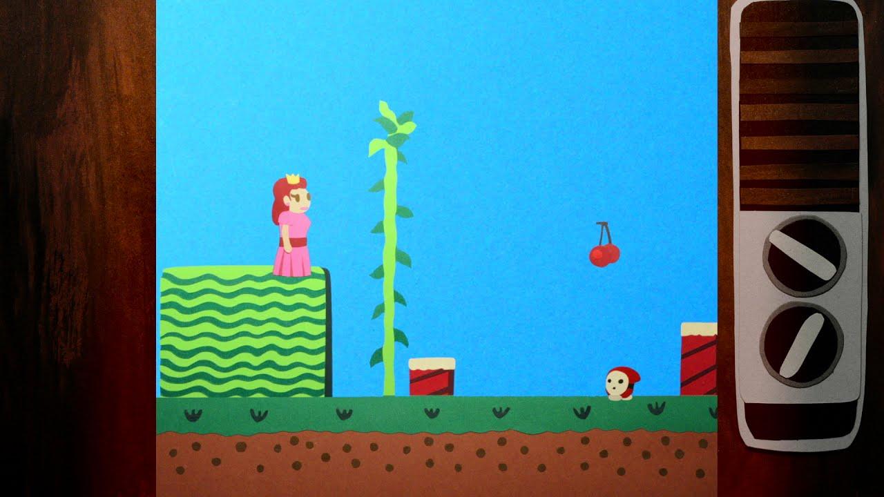 Oda a los videojuegos: una relajante animación con papel recortado sobre los juegos de épocas memorables
