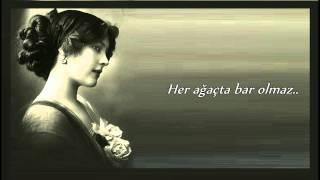 Senden Mene Yar Olmaz - Derya Petek ( Türkiye Türkçesinde) Altyazılı Sözleri