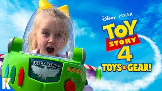TOY STORY 4 Movie Gear Test & Toys Review for Kids! | KIDCITY