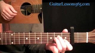 The Beatles - Julia Acoustic Guitar Lesson Pt.1 - Verse & Chorus
