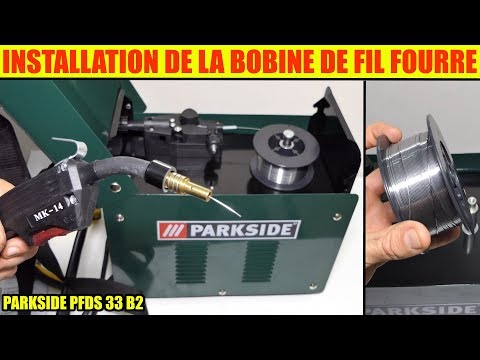 Lidl Poste Soudure Fil Fourre Parkside Pfds 33 Installer Le Fil Fourré Mp3