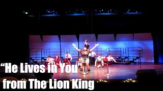 He Lives in You- Musicality Vocal Ensemble