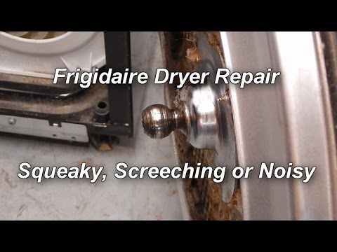 How to Fix a Noisy, Squeaking or Screeching  Frigidaire Dryer