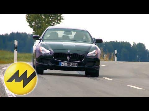 Maserati Quattroporte - Test it