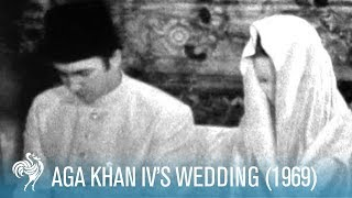 Aga Khan IV's Wedding in Paris, France (1969) | British Pathé