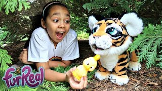 FurReal Friends Tiger In Our Garden | Toys AndMe Pretend Play