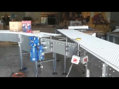 Transportador modular a tramos y secciones - Enrique Fores SL