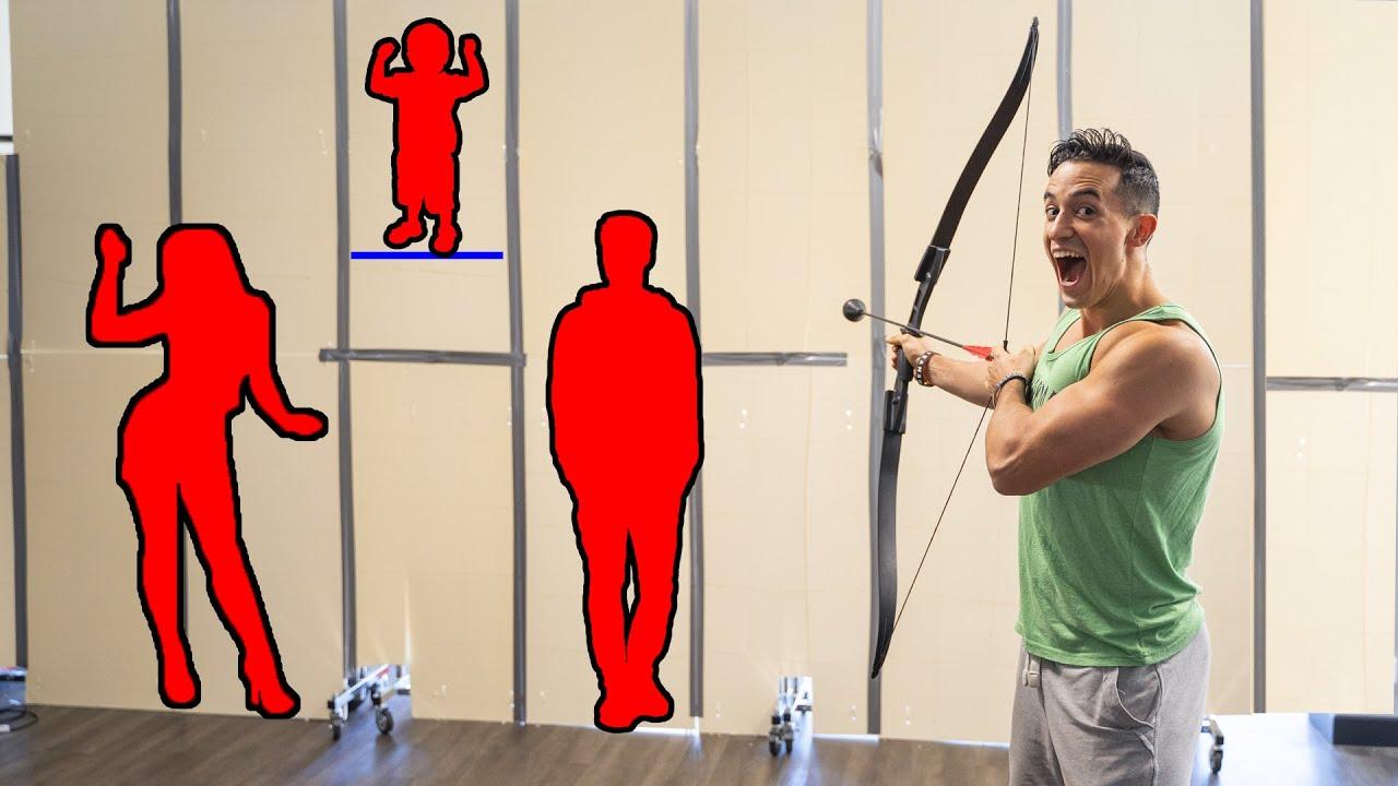 Tirer sur la personne derrière ce mur géant challenge !