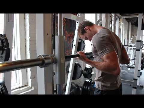 Drag Curls Smith Machine - Bicep Exercises for Men