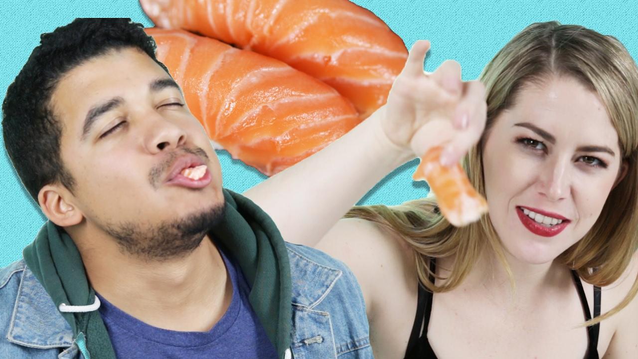 Sushi Lovers Guess Cheap Vs. Expensive Sushi thumbnail