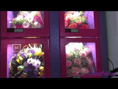 Торговый автомат для продажи цветов и сувениров ELEMENT. Цветомат. Флоромат