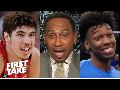 The Warriors don't need LaMelo! – Stephen A. predicts Golden State picks James Wiseman | First Take