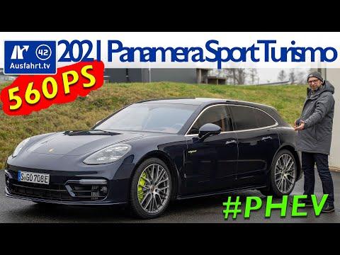 2021 Porsche Panamera Sport Turismo 4S E Hybrid Facelift PHEV 971   Fahrbericht der Probefahrt  Test