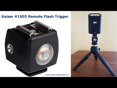 Declansator optic pentru blit Kaiser #1503 - Remote Flash Trigger