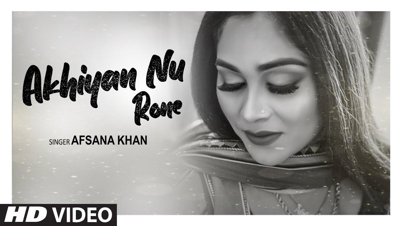 Akhiyan Nu Rone Lyrics