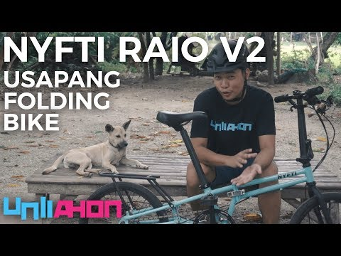 Usapang Tiklop: Nyfti Raio V2 Folding Bike Review