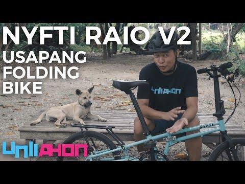 Usapang Tiklop: Nyfti Raio V2 Folding Bike Review