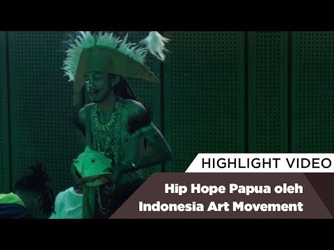 Highlight Hip Hope Papua oleh Indonesia Art Movement