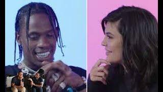 Kylie Jenner Asks Travis Scott 23 Questions | GQ  REACTION!!