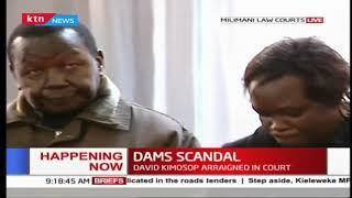 Happening now: Former KVDA MD, David Kimosop arraigned in court