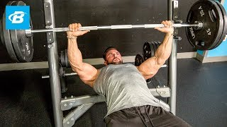 Top-To-Bottom Chest Workout | Dylan Thomas by Bodybuilding.com