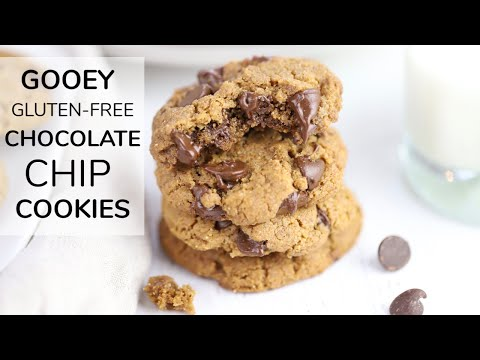 THE BEST CHOCOLATE CHIP COOKIES | gluten- free chocolate chip cookies recipe