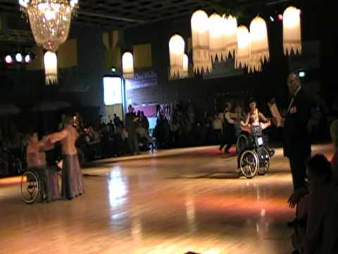 Cuijk 2009 rolstoeldansen COMBI AMATEURS CLASS 2