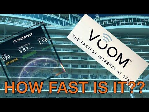 Voom Internet Review – October 2017 – Royal Caribbean Oasis Ship