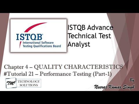 ISTQB Technical Test Analyst   4.5 Performance Efficiency Testing ...