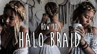 How To Halo Braid In Three Different Ways