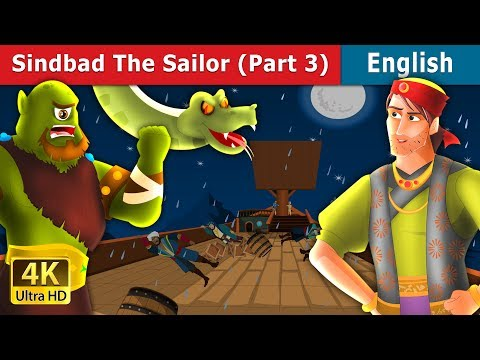 Sinbad the Sailor (Part 3) in English | Story | English Fairy Tales