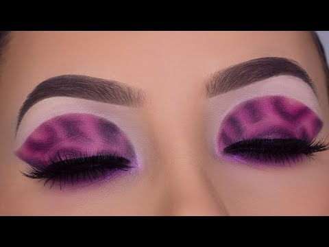 HD Pink Leopard Eye Makeup Tutorial   YOU CAN DO THIS!